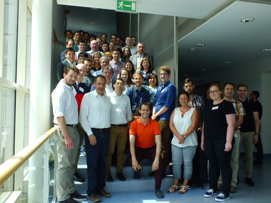 Gruppenfoto Bioelectrochemistry 2018