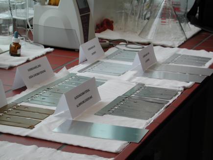galvanikanlage: Beispiel für eine Substratvorbehandlung (Ersatz der Chromatierung